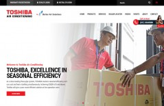 toshiba-air-condition-indonesia-jakarta-website-design-surabaya-jakarta - Web design surabaya