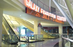 galaxy-mall-surabaya-led-moving-text-sign-with-3d-letter-timbul-acrylic-and-led-light - Web design surabaya