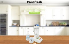 panafresh-electronic - Web design surabaya