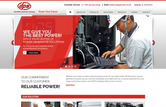 dps-power - Web design surabaya