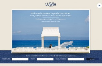 rumah-luwih-wedding-website - Web design surabaya