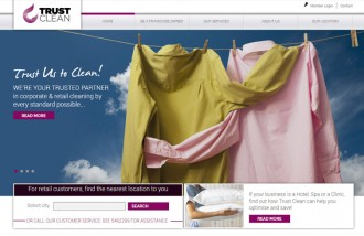 trust-clean - Web design surabaya