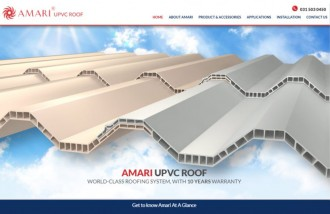 amari-upvc-roof-indonesia - Web design surabaya