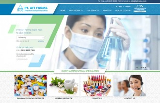 afi-farma - Web design surabaya