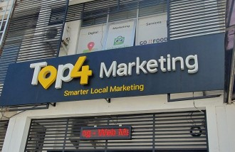 top-4-marketing-3d-letter-galvanized-plate-with-acp-base - Web design surabaya