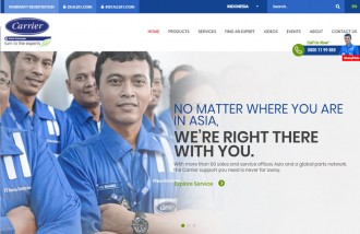 carrier - Web design surabaya