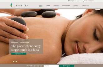 adara-spa - Web design surabaya