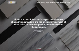 aluvindo-aluminum-extrussion - Web design surabaya
