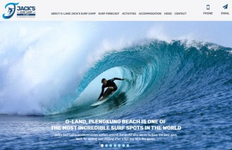 g-land-jack-s-surf-camp - Web design surabaya
