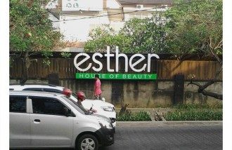 esther-house-of-beauty-surabaya-3d-letter-with-led - Web design surabaya