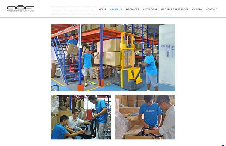 Aof Singapore Ardent Office Furniture Portfolio Mark